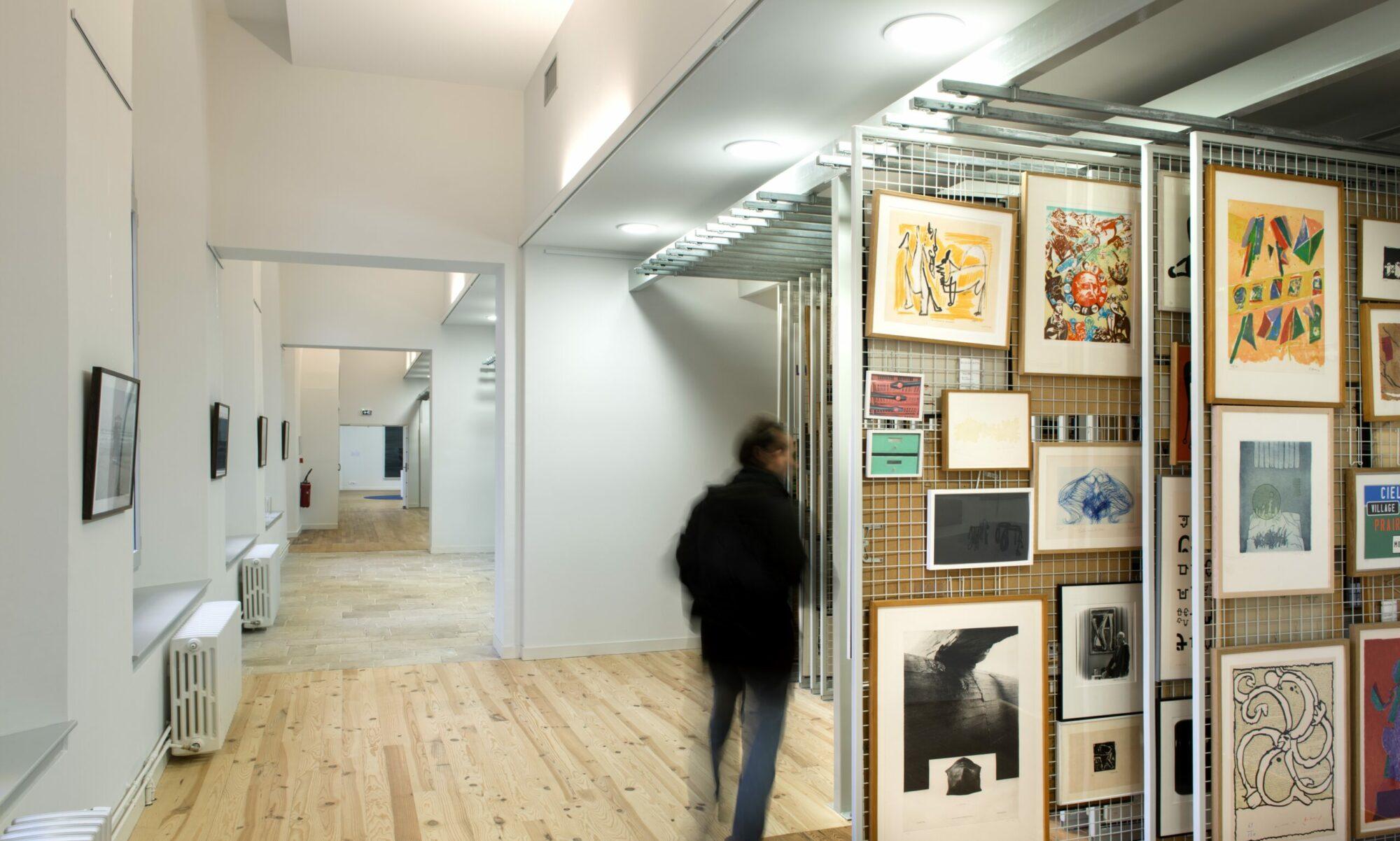 Les artothèques publiques et leurs collections